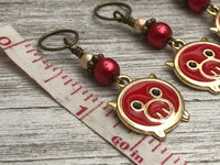 Pig Stitch Markers for Knitting, Knitting Gift