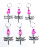 Dragonfly Stitch Markers for Knitting, SNAG FREE, Gifts for Knitters
