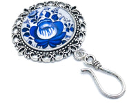 Magnetic Floral Portuguese Knitting Pin