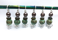 Celtic Knot Stitch Markers for Knitting, Gift for Knitters