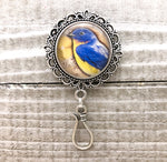 Bluebird Portuguese Knitting Pin, Gift for Knitters,  Magnetic