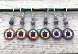 Turtle Stitch Markers for Knitting or Crochet, Gift for Knitters, Tortoise