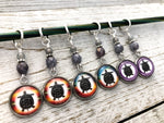 Turtle Stitch Markers for Knitting or Crochet | Gift for Knitters | Sets of 6 or 8 | Tortoise