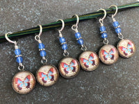 Butterfly Stitch Markers for Knitting or Crochet, Gift for Knitters, Snag Free