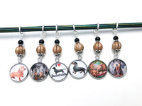 Dachshund Stitch Markers for Knitting or Crochet