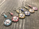 Butterfly Stitch Markers for Knitting or Crochet, Gift for Knitters, Snag Free Rings