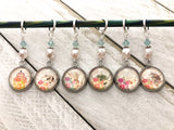 Assorted Teapot Stitch Markers for Knitting or Crochet