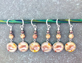 Hedgehog Stitch Marker Set for Knitting or Crochet, Gift for Knitters, Snag Free, Hedgepig