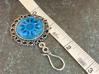 Kaleidoscope Portuguese Knitting Pin, Magnetic Brooch