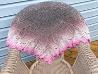 Hand Knit Shawl for Women, Wedding Accessory, Gift for Bride or Bridesmaid