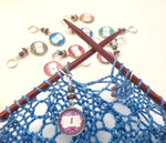 Number Stitch Markers for Knitting or Crochet, Row Counter, Up to 20 Markers