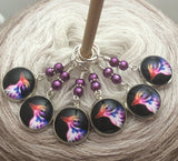 Bird Stitch Markers for Knitting, Gift for Knitter, Progress Keepers, Crochet Stitch Marker, Sets of 3-20 Markers