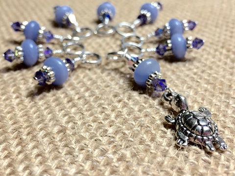Turtle Stitch Marker Set - Snag Free