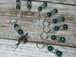 Yarn Charm Beaded Stitch Marker Set- Snag Free Knitting Markers , Stitch Markers - Jill's Beaded Knit Bits, Jill's Beaded Knit Bits  - 3