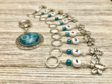 Honey Bee Number Stitch Markers for Knitting
