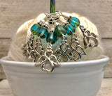 Dramatic Angels Knitting Stitch Marker Set - Snag Free