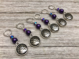 Mermaid Stitch Markers with Snag Free Rings