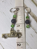 Antique Pick up Truck Stitch Marker Set , Stitch Markers - Jill's Beaded Knit Bits, Jill's Beaded Knit Bits  - 7