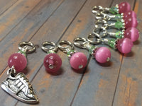 Running Shoe Stitch Marker Set , Stitch Markers - Jill's Beaded Knit Bits, Jill's Beaded Knit Bits  - 3