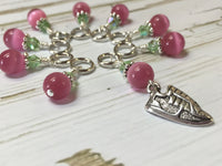 Running Shoe Stitch Marker Set , Stitch Markers - Jill's Beaded Knit Bits, Jill's Beaded Knit Bits  - 1