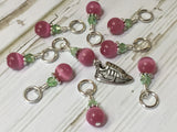Running Shoe Stitch Marker Set , Stitch Markers - Jill's Beaded Knit Bits, Jill's Beaded Knit Bits  - 8