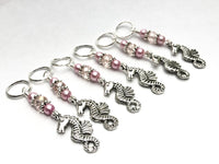 Seahorse Stitch Markers with Snag Free Rings
