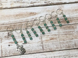 Rotary Telephone Stitch Marker Set- 9 Pieces , Stitch Markers - Jill's Beaded Knit Bits, Jill's Beaded Knit Bits  - 2