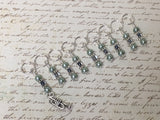 Trumpet Stitch Marker Set For Music Lovers , Stitch Markers - Jill's Beaded Knit Bits, Jill's Beaded Knit Bits  - 2