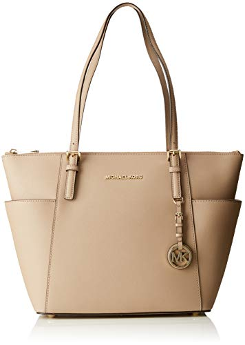 Michael Kors Women Jet Set Item Tote Grey (Truffle): Handbags: Amazon.com (Shop From Amazon)
