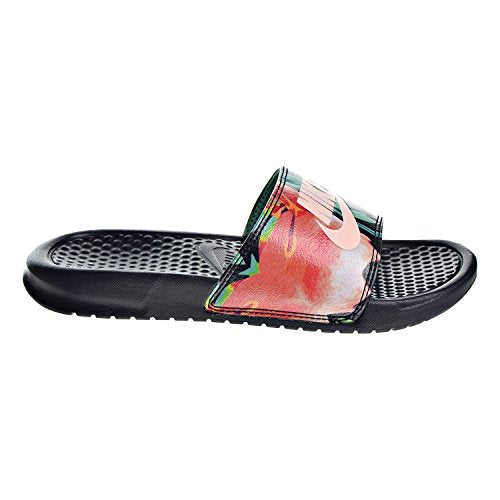 | NIKE Women's Benassi Just Do It Synthetic Sandal | Flip-Flops (Shop From Amazon)