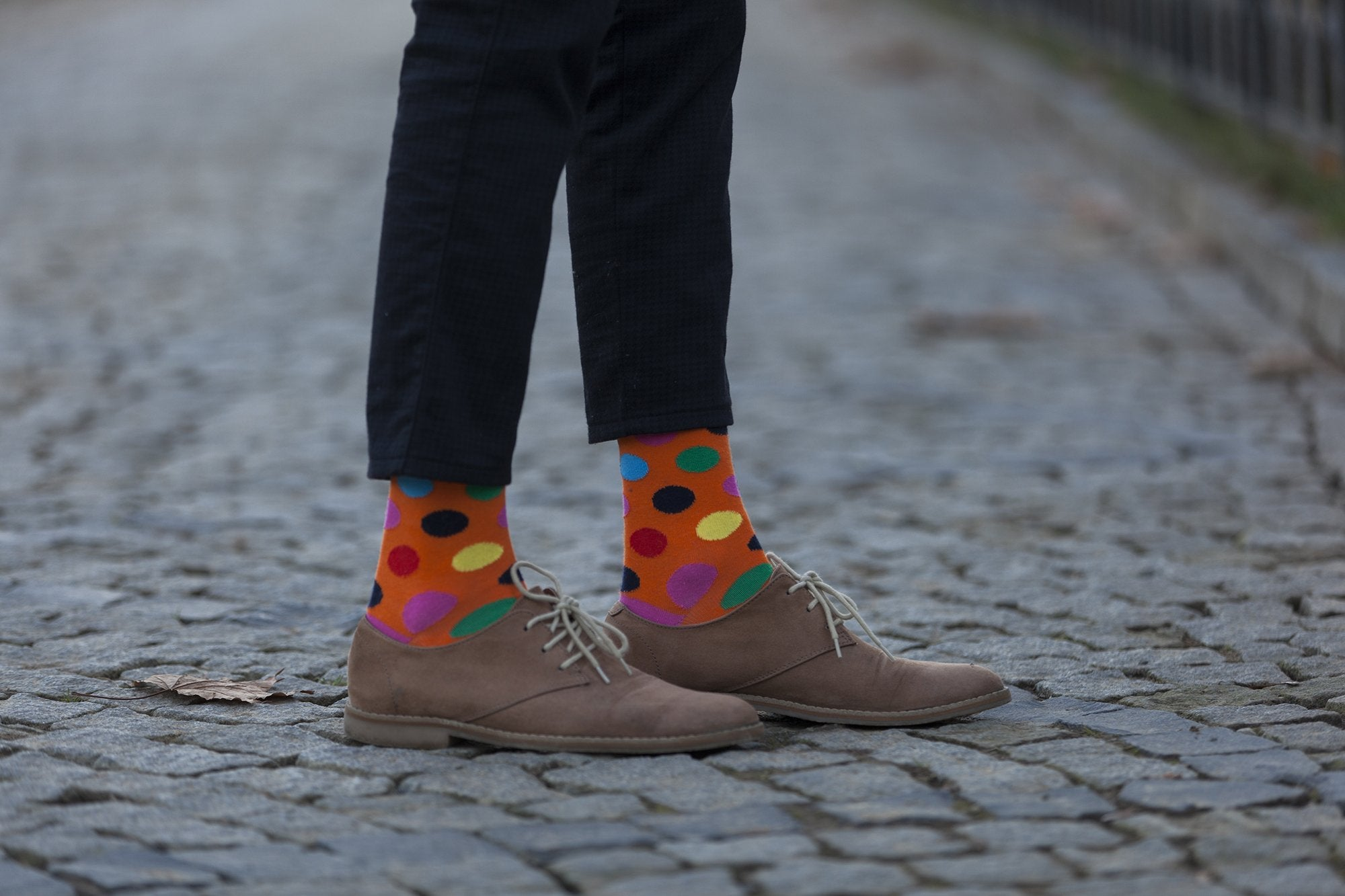 Men's Modern Dots Socks