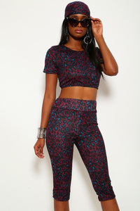 Animal Print, 3 Piece Set