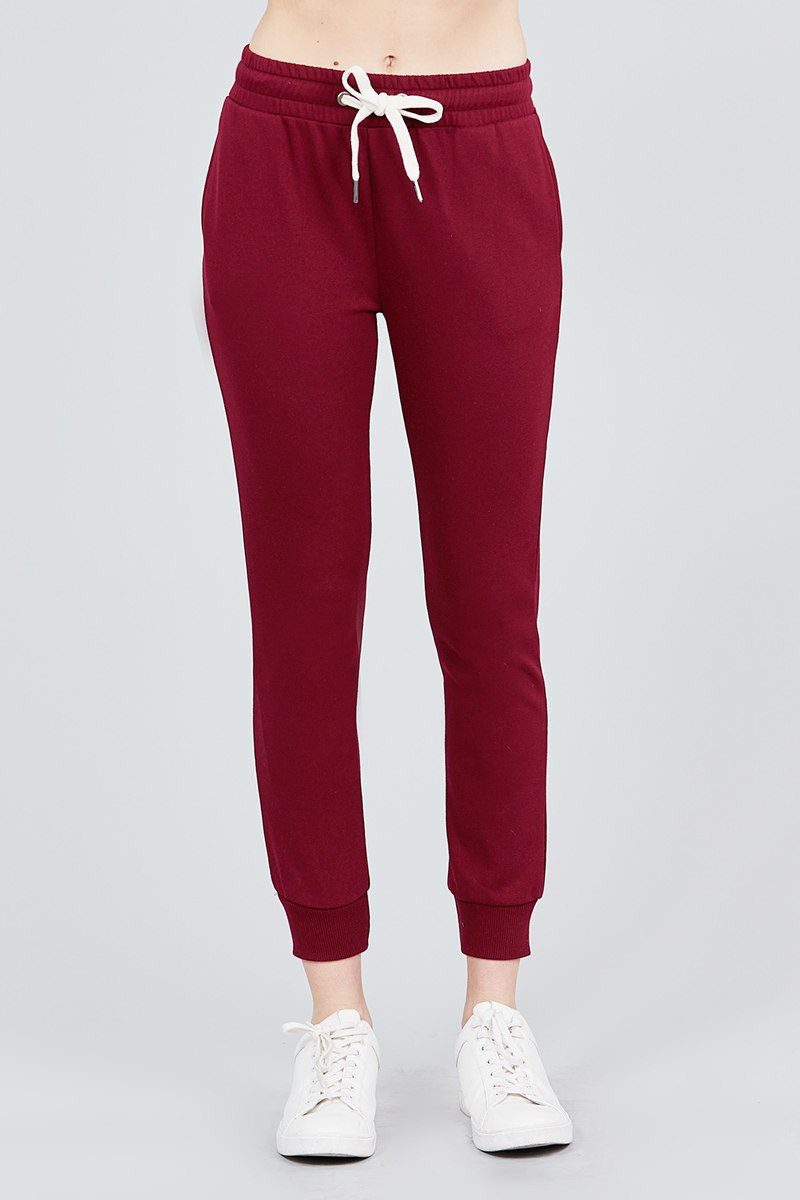French Terry Capri Jogger Pants