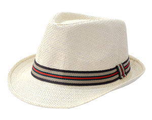 Summer Beach Fedora Hats For Women and Gentleman