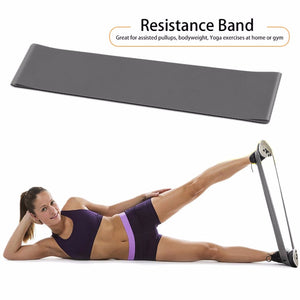Yoga Fitness Resistance Band Elastic Latex Belt Loop Pull Strength Training free shipping