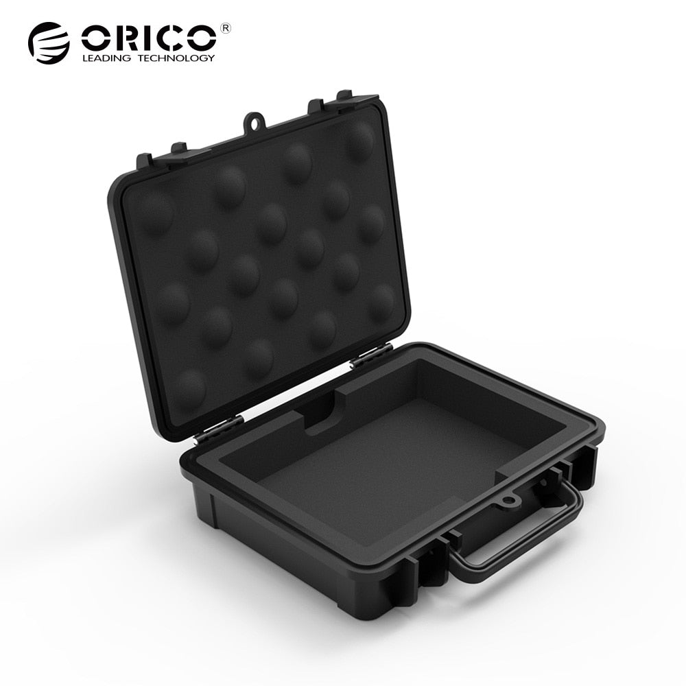 ORICO 3.5 Inch HDD Protection Box,  Water -Shock-Dust-proof, Safety Lock and Snap Design