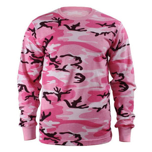 Joggers- Men Long Sleeve Camouflage Tactical Fitness TShirt - S - 3XL