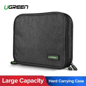 Ugreen Power Bank Durable  Storage Case for iPad Mini, iPhone, SSD External Hard Drive