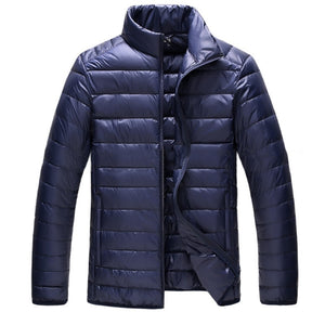 Men Fixed Collar, Light Down Jacket for Casual and Semi-Dress Wear, Multiple Colors ( M-XXXL)