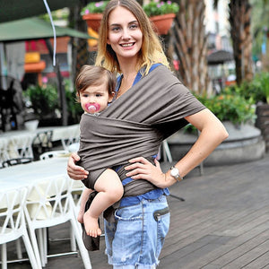 Multi-Functions Newborn Baby Carrier Sling,  Soft Infant Wrap