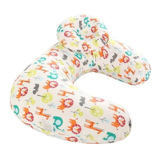 Newborn Baby Cotton Cushion Nursing Pillow, U-Shaped for ease of Maternity Breastfeeding