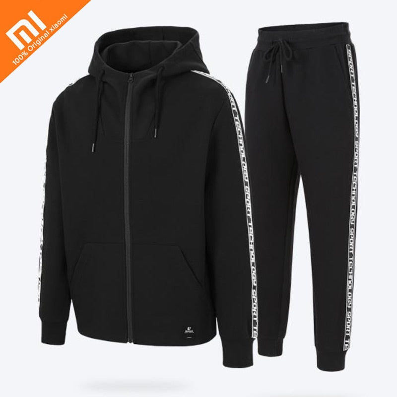 Original xiaomi mijia ULEEMARK men's trend  loose sportswear casual suit for autumn/ winter