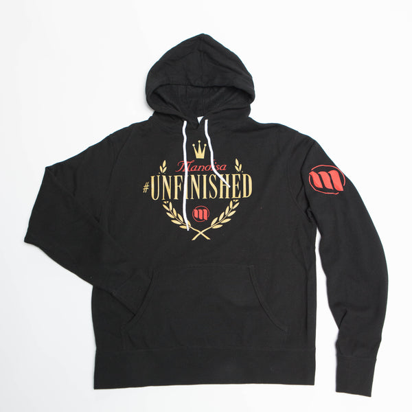 #Unfinished 24K Gold Foil Hoodie - MandisaOfficial