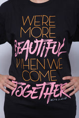 We're More Beautiful Long Tee - MandisaOfficial