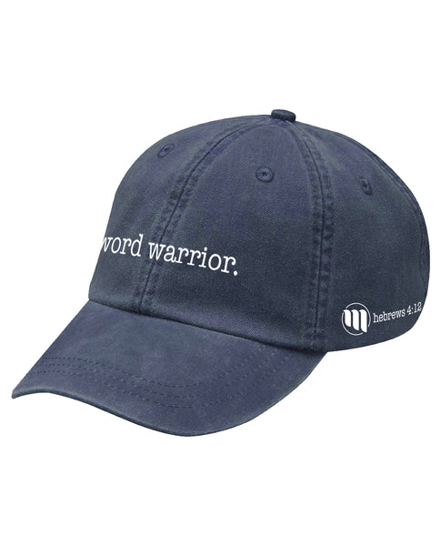 Word Warrior Dad Hat - MandisaOfficial