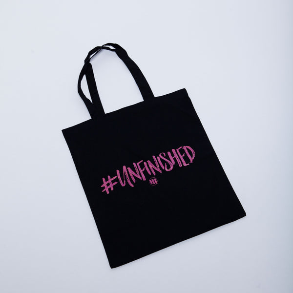 #Unfinished Tote Bag - MandisaOfficial