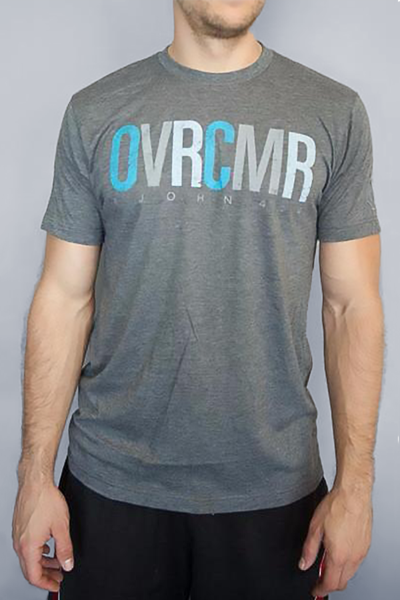 OVRCMR Grey T-Shirt - MandisaOfficial