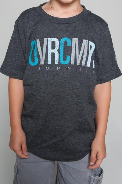OVRCMR Grey T-Shirt - YOUTH - MandisaOfficial
