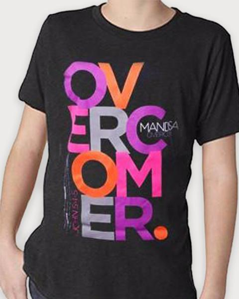 Youth Overcomer Block T-Shirt - YOUTH - MandisaOfficial