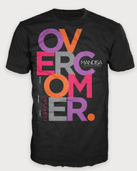 Overcomer Block T-Shirt - YOUTH - MandisaOfficial